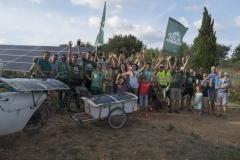 Alternatiba Survoltes Aubais Parc Photovoltaique